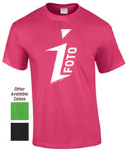 BEING DISCONTINUED - iFOTO T-shirt (see description for sizes)