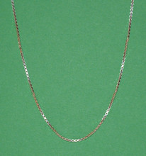 "20"" Sterling Silver Necklace"