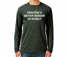 Creating A Better Version of Myself Long-sleeve Shirt (L,XL, XXL only)