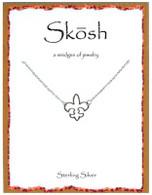 Skosh Open Fleur-De-Lis Necklace
