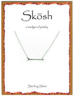 Skosh Pointing Arrow Necklace