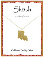 Skosh Louisianna Necklace- Gold Plated