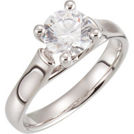 1/4 ct tw Diamond Engagement Ring