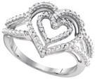 0.05 CTW DIAMOND FASHION RING