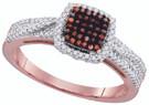 0.33 CTW DIAMOND MICRO-PAVE RING