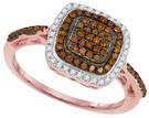 0.35CTW DIAMOND FASHION RING