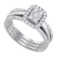 0.50CTW DIAMOND FASHION BRIDAL SET
