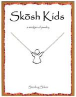 Skosh Children's Open Angel Necklace