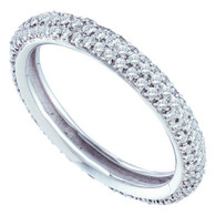 0.75CTW DIAMOND ETERNITY BAND