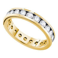 2.03CT DIAMOND ETERNITY BAND