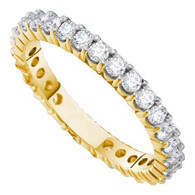 1.00 CTW DIAMOND ETERNITY BAND