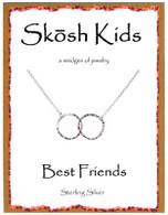 Skosh Children's Best Friends Circles Necklace