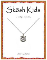 Skosh Children's Crown Necklace