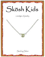 Skosh Children's White Pearl Necklace
