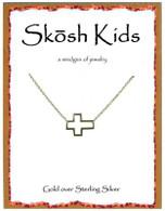 Skosh Children's  Open Cross Necklace