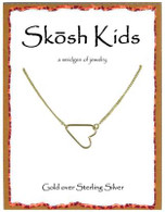 Skosh Chikdren's Open Heart Necklace