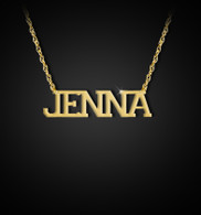 Varsity Name Necklace