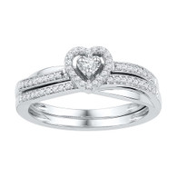 0.25CTW DIAMOND BRIDAL SET