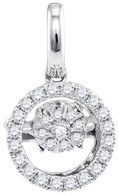 0.14 CTW DIAMOND FASHION PENDANT