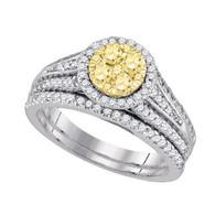 1.00 CTW  DIAMOND FASHION BRIDAL SET