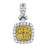 1.02CTW DIAMOND FASHION PENDANT