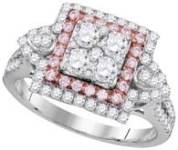 1.10CTW PINK DIAMOND FASHION RING