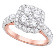 2.00CTW DIAMOND FASHION BRIDAL RING