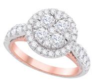 2.00 CTW DIAMOND FASHION BRIDAL RING