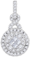 0.50  CTW DIAMOND FASHION PENDANT