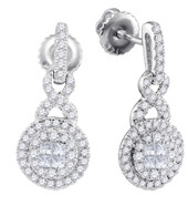 0.50CTW DIAMOND FASHION EARRINGS