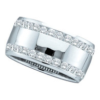 0.53CT DIAMOND MACHINE SET BAND