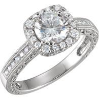 1/2 CTW Diamond Semi-mount Engagement Ring