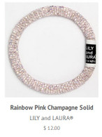 Rainbow Pink Champagne Solid