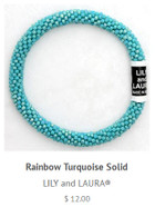 Rainbow Tuquoise Solid