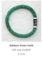 Rainbow Green Solid