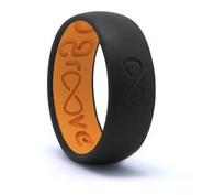 GROOVE ORIGINAL SILICONE RING | MIDNIGHT BLACK
