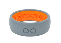 GROOVE ORIGINAL SILICONE RING | STORM GREY