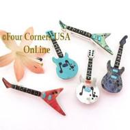 Inlay Guitar Jewelry
