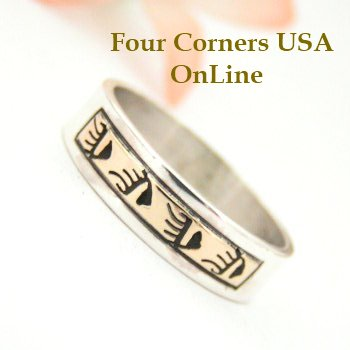 Silver Gold Wedding Bands Four Corners USA Online