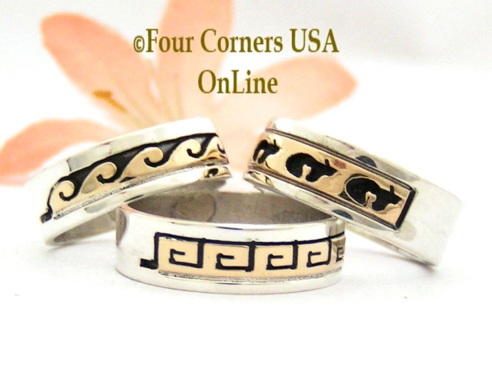 2015 Navajo Wedding Rings Four Corners USA Online