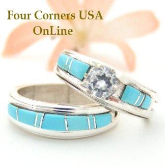 Similiar Navajo Wedding Ring Sets Keywords