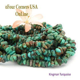 5mm Teal Green Kingman Turquoise Nugget Bead Strands Group 24 Four Corners USA OnLine Jewelry Making Supplies Jewelry Making Supplies