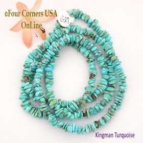 6mm Blue Kingman Turquoise Nugget Bead Strands Group 27 Four Corners USA OnLine Jewelry Making Supplies