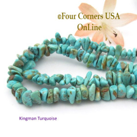 6mm Green Blue Kingman Turquoise Nugget Bead Strands Group 33 Four Corners USA OnLine Southwest Jewelry Making Supplies