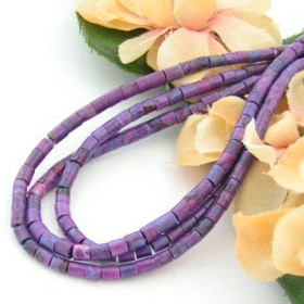 3mm Heishi Mohave Purple Kingman Turquoise Beads Designer 22 Inch Strand Jewelry Making Supplies