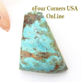 Burtis Blue Turquoise Mine 31 carat Cabochon #001 (formerly Florence Mine) in Cripple Creek, Colorado Four Corners USA OnLine Jewelry Making Supplies