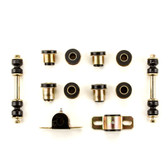 1955 1956 1957 Chevrolet Full Size Black Polyurethane Front End Suspension Bushing Set