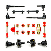 1955 1956 1957 Chevrolet Full Size Red Polyurethane New Front End Suspension Rebuild Kit
