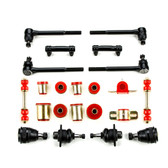 1974 1975 1976 Chevrolet Full Size Red Polyurethane Front End Suspension Rebuild Kit