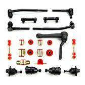 1973 Chevrolet Camaro Red Polyurethane Complete Front End Suspension Master Rebuild Kit